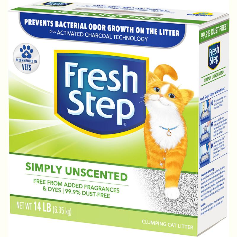 Наполнитель для кошачьего туалета фреш степ цена