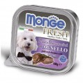 Корм Monge Dog Fresh конс 100г д/собак ягненок
