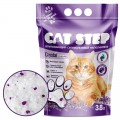 Наполнитель Cat Step Crystal Lavander 3,8л/1,81кг ЛАВАНДА силикагель 1/8